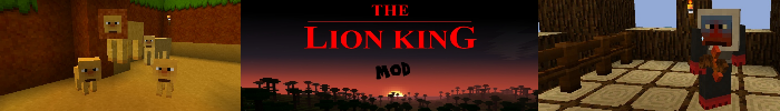 The lion king mod v1.6 (1.3.2) - моды для minecraft