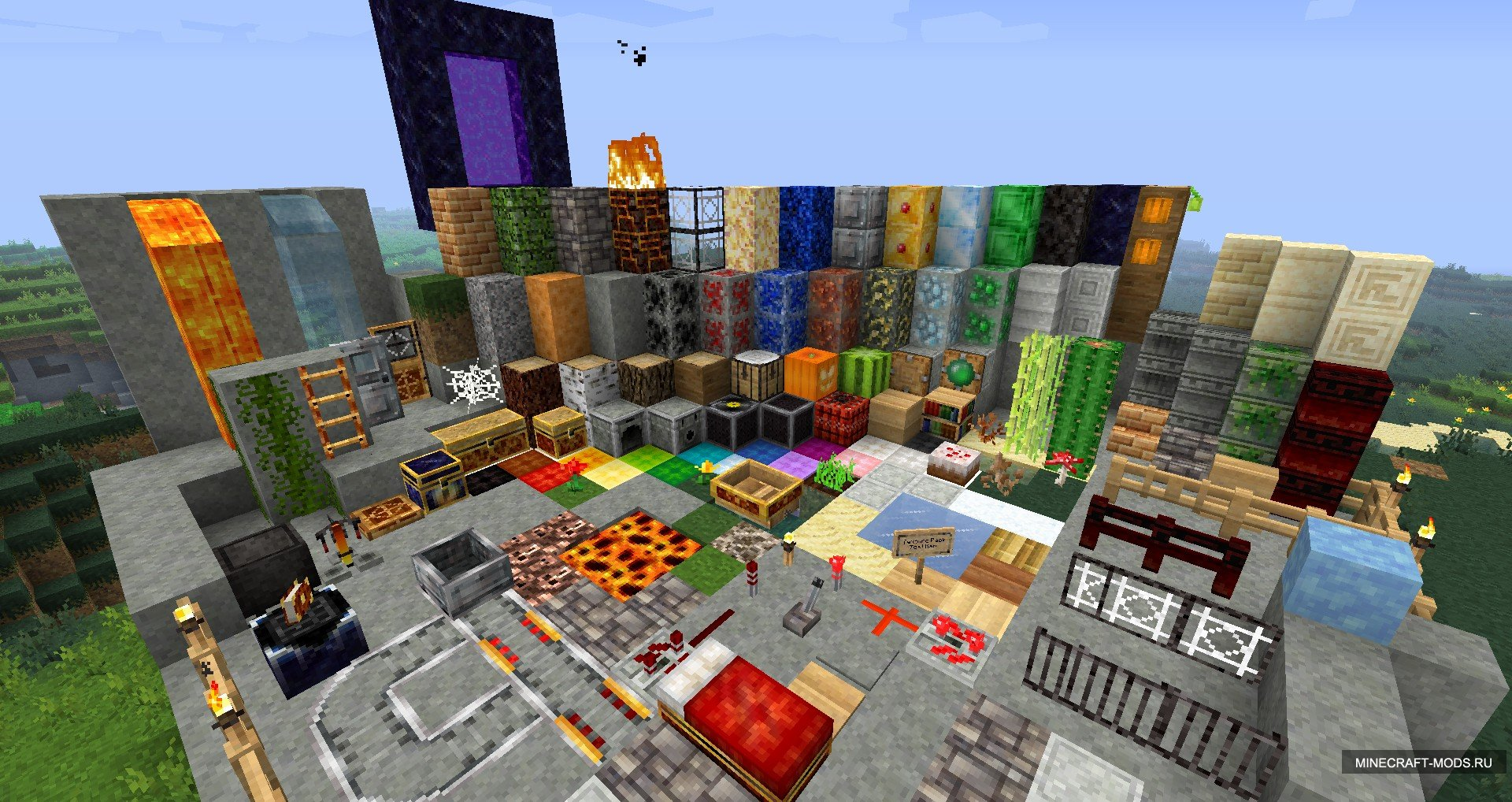 Forgotten Lands v1.8 - �������� ��� minecraft