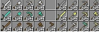 Tools are now stackable - Моды для minecraft