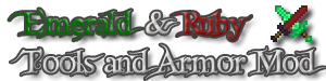 Emerald And Ruby Tools And Armor v1.1.5 (1.3.1) - ���� ��� minecraft