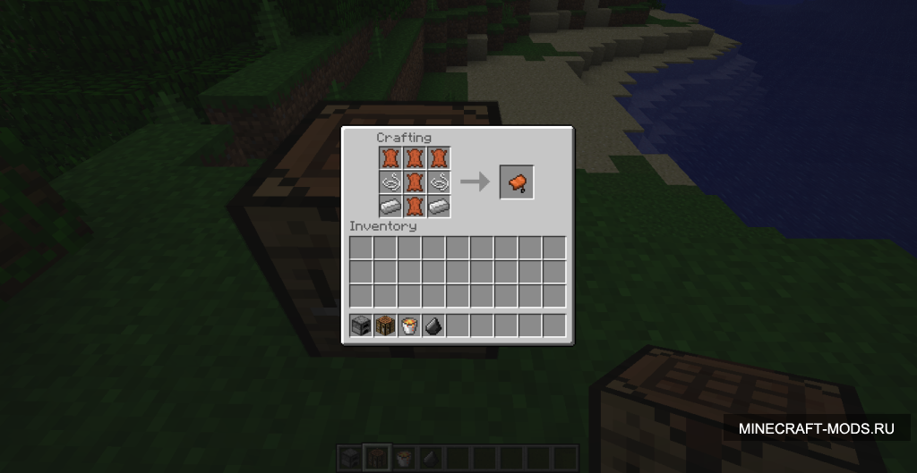 Aaron's Small Mods: Craftable Saddles 1.3.1.