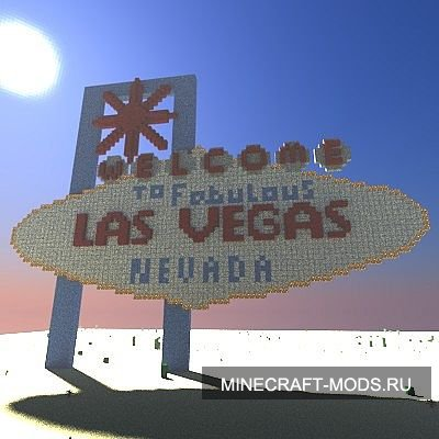 Welcome to Fabulous Las Vegas (Карта) - Карты для minecraft