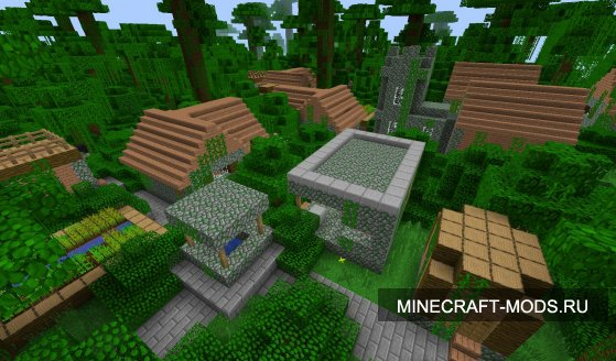 More Village Biomes (1.4.7) - ���� ��� minecraft