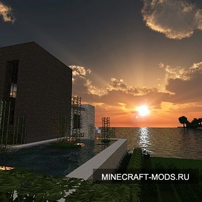 Light - Modern beach House (Карта) - Карты для minecraft