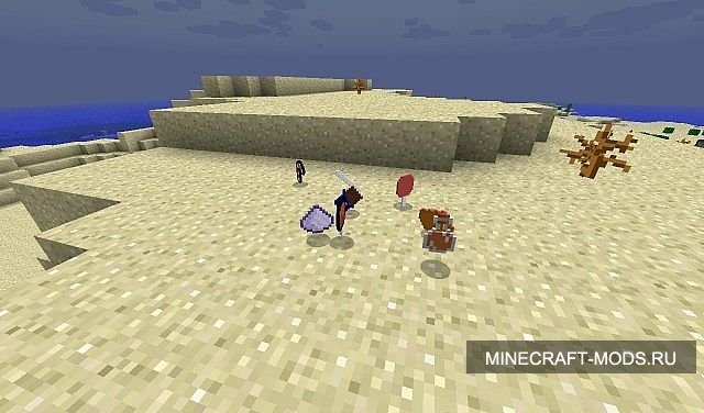 View the embedded image gallery online at: http://mainecraft.ru/mody-minecraft/984-the-sugar-rush-mod...