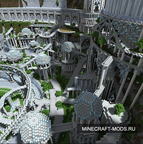 The City of Adamantis (Карта) - Карты для minecraft