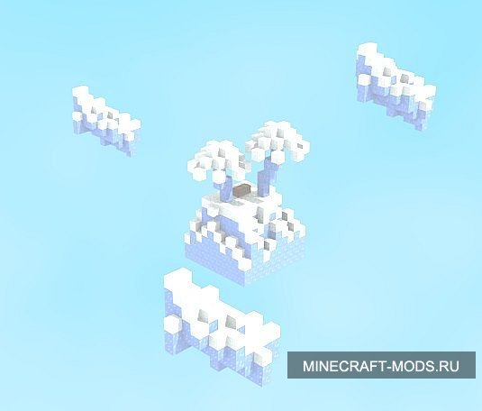 EPIC skyblock in ice Hardcore (�����) - ����� ��� minecraft