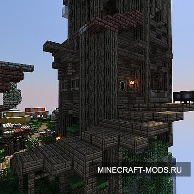 The Small Town of Bestol (Карта) - Карты для minecraft