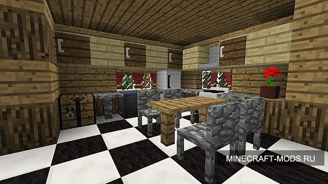 Mrcrayfish's furniture мод на мебель для minecraft 1. 5. 1.