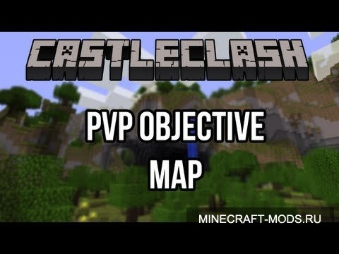CastleClash - PvP Objective Map (Карта) - Карты для minecraft
