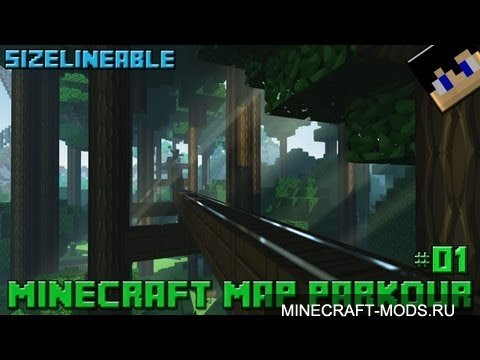 SizeLineable Map Parkour (Карта) - Карты для minecraft