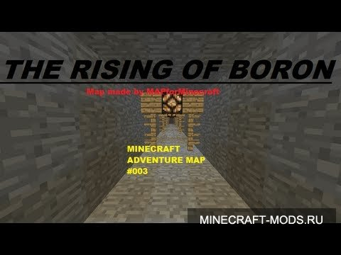 The Rising of Boron (Карта) - Карты для minecraft