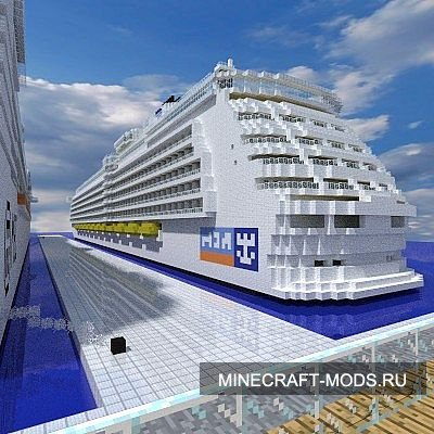 Independence Of The Seas 1:1 Scale (Карта) - Карты для minecraft