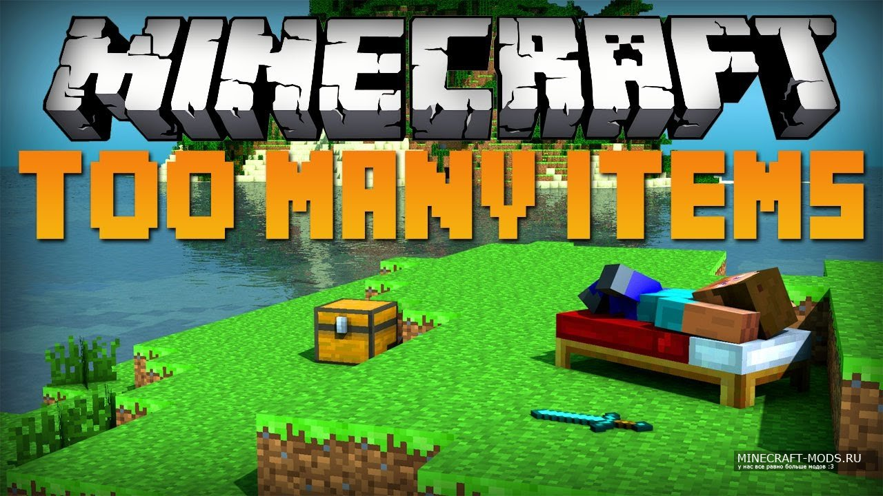 How to install too many items mod for minecraft 1. 7. 10 (download.
