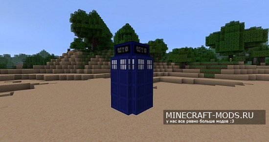 The Doctor Whovian [32x][1.8.8]