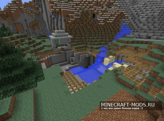 AutomatorMC's Randomly Generated Adventure Map [Карта]
