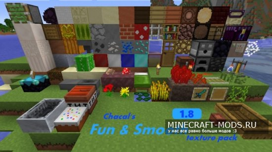 Chacal's Fun & Smooth [16x][1.8.8]