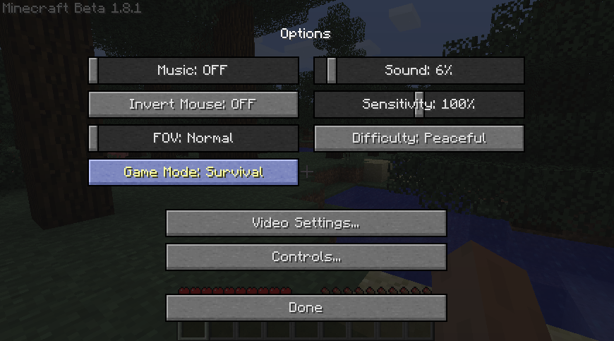 how to change from survival to creative in minecraft 1.8
