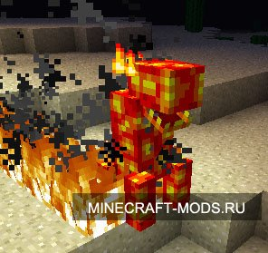 Lava Monsters (1.5.1) - Моды для minecraft