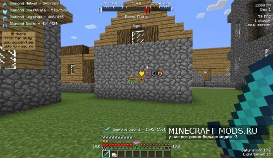 Better HUD by NukeDuck [1.7.10]