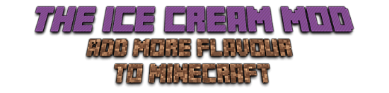 The Ice Cream Mod [1.7.10]