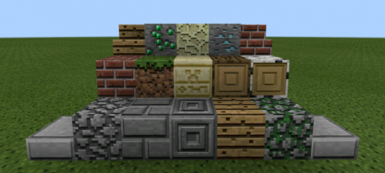 3D Textures (MCPE)