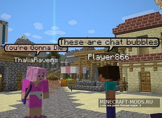 Chat Bubbles [1.7.10]/[1.8]