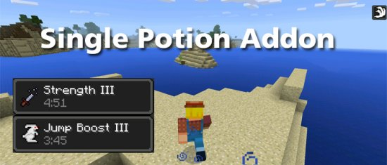 Single Potion Addon 0.11.0 (MCPE)